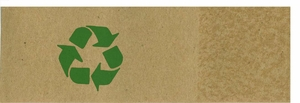 Napkin Bands (20,000 bands/case) - Recycled Brown Kraft with Green Emblem