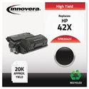 Remanufactured Q5942X (42X) Laser Toner, 20000 Yield, Black