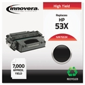 Remanufactured Q7553X (53X) Laser Toner, 7000 Yield, Black