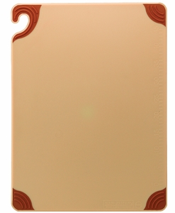 Saf-T-Grip Cutting Board - Brown