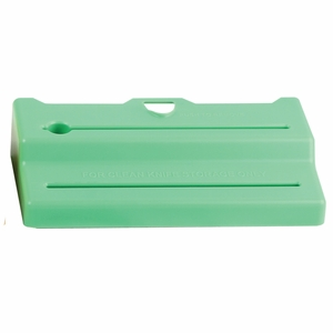 Saf-T-Knife Station Jr. Green Lid