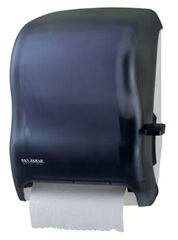 San Jamar Classic Lever Roll Towel Dispenser - Without Auto Transfer (1 Unit)