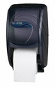 San Jamar Oceans Duett Bath Tissue Dispenser (2 roll capacity) Black Pearl *Clearance*