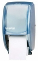 San Jamar Tissue Paper Dispenser (Blue) Plastic - 2 roll capacity *CLEARANCE*