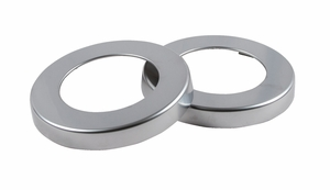 Sentry Euro Metal Finish Trim Ring - C5252C (2 ea)