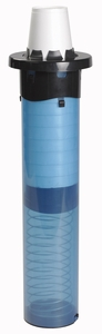 """Sentry In-Counter Adjustable Cup Dispenser - 8-44 Oz -18"""""""