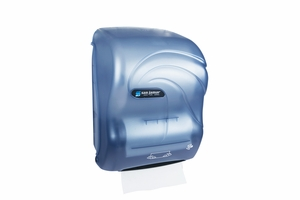 Simplicity Paper Towel Hands-Free Mechanical Roll Towel Oceans - Arctic Blue