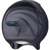 "Single 9"" Toilet Paper Dispenser JBT - Oceans - Black Pearl"