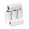 "2 1/4"" x 17' Single-Ply Calculator/Cash Register Rolls 5/Pack"