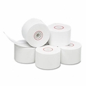 "Single-Ply Thermal Cash Register/POS Rolls, 1-3/4"" x 150 ft., White, 10/Pk"