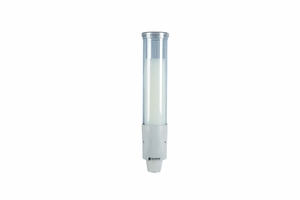 Small Pull-Type Water Cup Dispenser - Cone 3-4 1/2 Oz, Flat 3-5 Oz - Arctic Blue