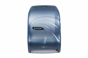 Smart System Paper Towel Dispenser w/IQ Sensor - Oceans - Arctic Blue