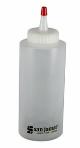 Squeeze Bottle - 12 Oz - Clear