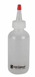 Squeeze Bottle - 4 Oz - Clear