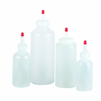 Squeeze Bottles Retail - (3) 24 Oz - Clear