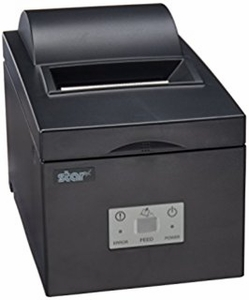 Star Micronics SP542MC42 GRY - Impact Printer, Cutter, Parallel, Gray, Internal UPS