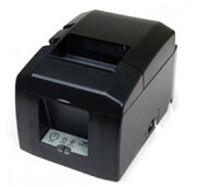 Star Micronics TSP654IIe3-24 Gry Us, Thermal Printer, Ethernet (LAN), Gray, Power Supply Included, Interface Is Swappable, Replaces 39449770