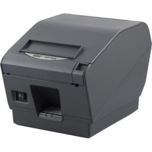 """Star Micronics TSP743II Label, 3"""" Printer, Direct Thermal Label, Cutter, Bluetooth, Android/Windows,Gray, Auto Connect Off Ex Ps Needed, Replaces 39480710"""