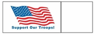 Napkin Bands (20,000 bands/case) - Support Our Troops