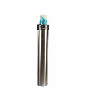 Surface Mount (Elevator) Type Cup Dispenser - 12-24 Oz - Vertical