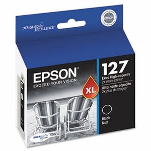 Epson T127120 (127) High-Yield Ink - Black
