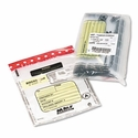 Tamper-Evident Deposit/Cash Bags, Plastic, 9 x 12, Clear, 100 Bags/Box