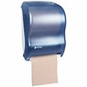 Tear-N-Dry Roll Towel Dispenser, Electronic Touchless, Classic Oceans Blue