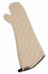 Terry Oven Mitts Heavy Duty - Protects to 500F - 24""
