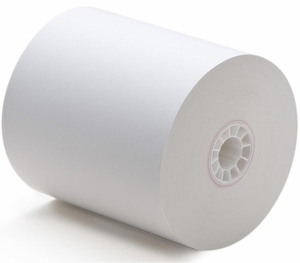"Thermamark 3 1/8"" x 230' Thermal Receipt Paper 7/16"" Core, 2.75"" OD (50 rolls/case)"
