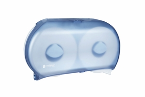 "Twin 9"" JBT Toilet Paper Dispenser - Classic - Arctic Blue"