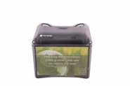 Venue Table Top Napkin Dispenser - Fullfold Control Face - Black Pearl