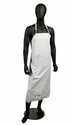 Vinyl Dishwashing Apron - White - 6 Mil
