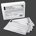 "Waffletechnology 4"" Thermal Printing Cleaning Card (15 / Box)"