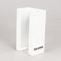 White Enamel Single Box Glove Dispenser