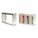 White Enamel Triple Box Glove Dispenser