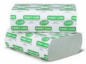 Multifold Paper Towels, 9 1/4 x 9 1/2, White, 4000/Carton