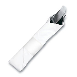 """4 1/2"""" x 1 1/2"""" Paper Napkin Bands (2,000 bands/pack) - White"""