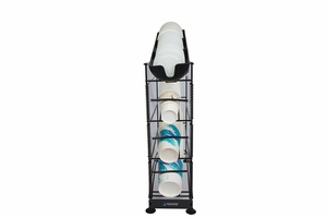 Wireworks 4 Tier Cup Dispenser w/Lid Tray