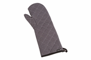 """Wool Oven Mitt - Protects to 450F - 17"""" - Grey"""