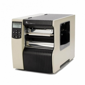 "Zebra 170Xi4 Industrial Label Printer - 6.6"" Print Width, 203 DPI, Rewind with Peel"