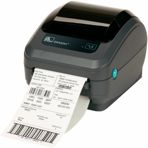 Zebra GK420 printer with Direct Thermal print mode