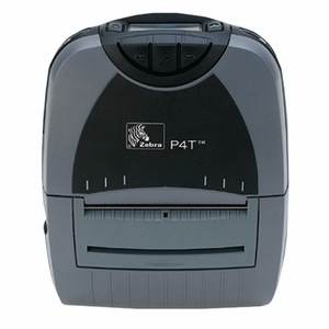 Zebra P4T Portable Label Printer, Ethernet Connectivity, Fanfold Slot