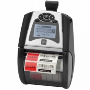 Zebra QLn320, 802.11a/b/g/n dual radio (w/BT3.0+MFi), XBAT, no belt clip, extended battery