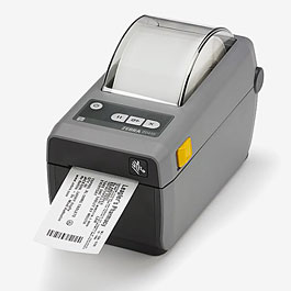 Zebra ZD410 Desktop Label Printer - Standard Model, 300 DPI with 802.11Ac and Bluetooth 4.1 Connectivity