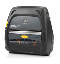 "Zebra ZQ520 Portable Label Printer (4""), Dual Radio, Active NFC, No Battery"
