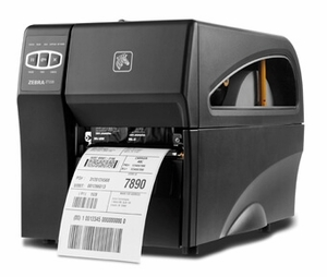 "Zebra ZT220 Industrial Label Printer with Direct Thermal, 4"" Print Width, 300 DPI, Peel, 802.11 A/B/G/N"