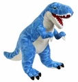 Giant Blue T-rex Soft Dinosaur Plush Toy, 30""