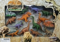 Jurassic World Dinosaur Toys Play Set, 12 pcs