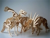 SPECIAL OFFER - Dinosaur Bones Puzzles Skeletons Woodcraft Kits