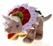 Fiesta Large Cuddly Soft Triceratops Plush Toy 19 inch